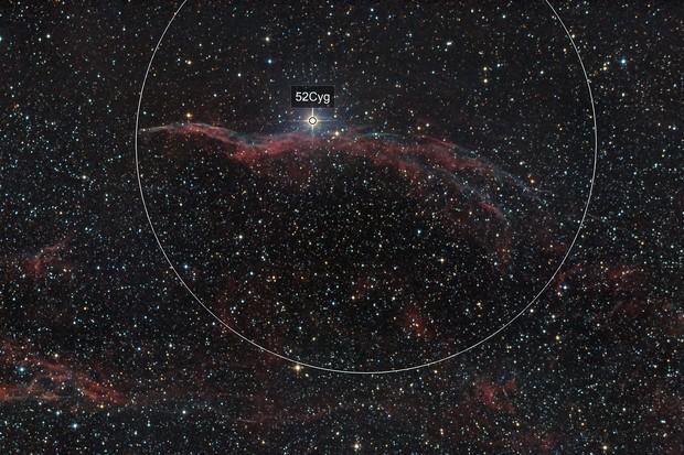 NGC6960 - Western Veil Nebula