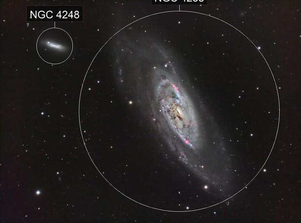 M106 Spiral Galaxy