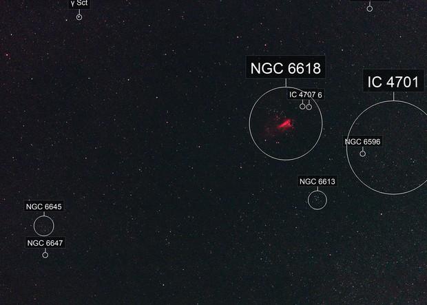 High ISO Test (25600), NGC 6618