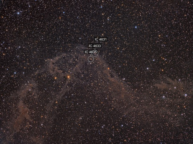 South Celestial Serpent RW9 and IC 4633