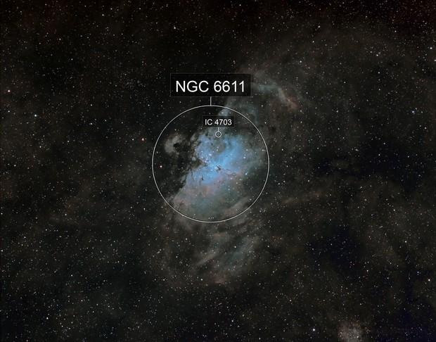M16 Eagle Nebula SHO
