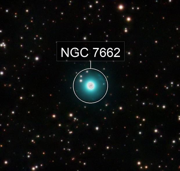 NGC 7662 Blue Snowball Nebula