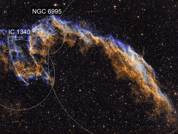 NGC6992 The Eastern Veil Nebula