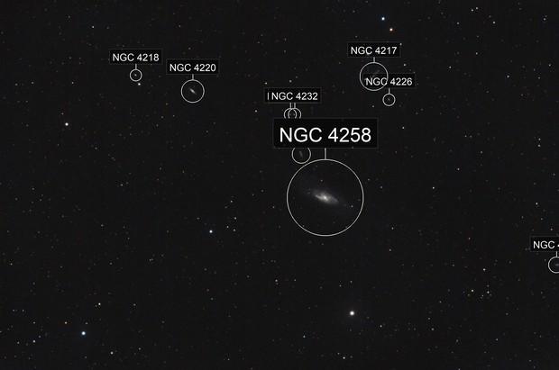 M106,Galaxy in Canes Venatici
