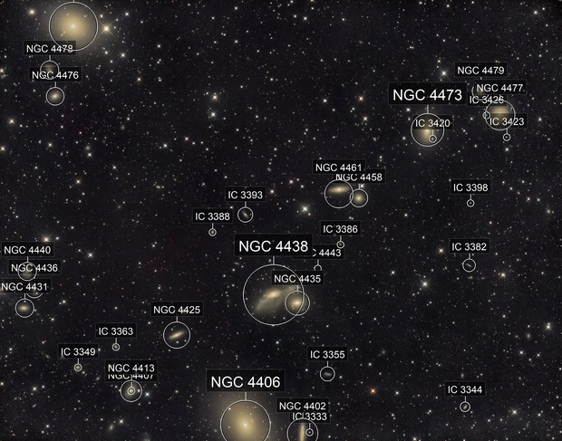 M87 and the Markarian chain