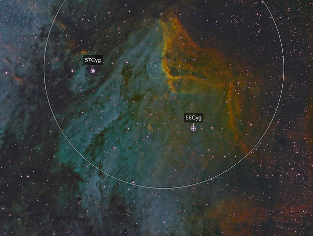 Pelican Nebula - IC 5070