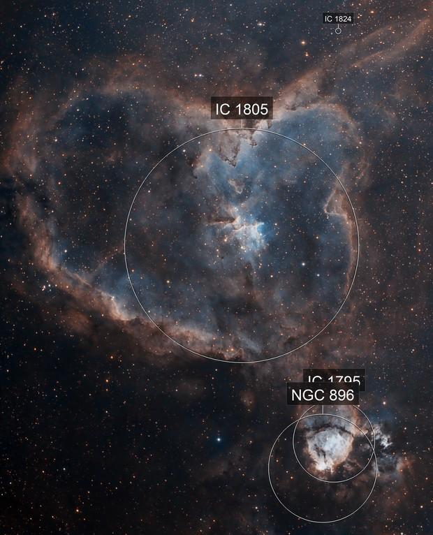 IC 1805 Heart Nebula