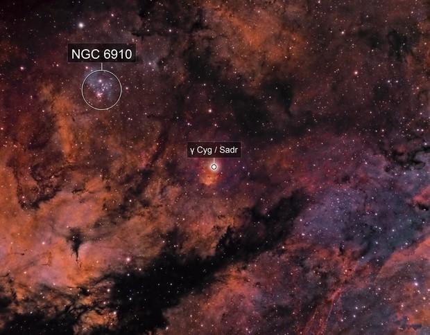 Sh2-108 (Gamma Cygni) - SHO