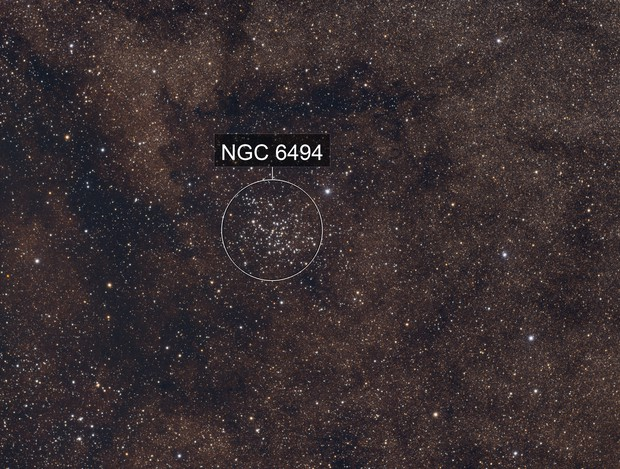 Messier 23 and Sagittarius Star Field