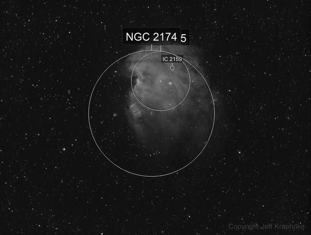 NGC2174 Monkey Head