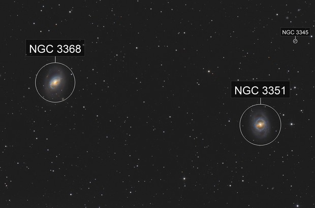 M95 & M96 - Galaxies in Leo