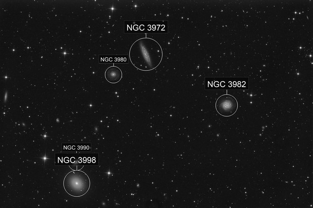 NGC 3972 and friends