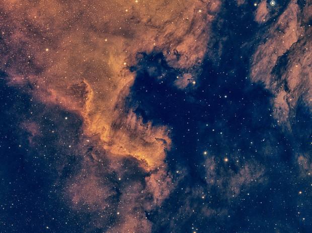 NGC 7000 Bi-Color