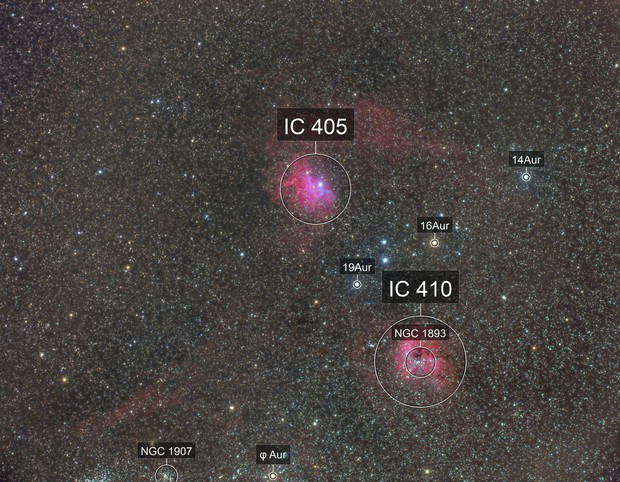 IC 405 and IC 410