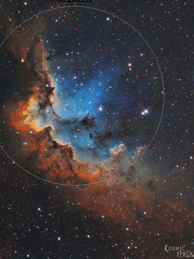 NGC 7380 - The Wizard Nebula