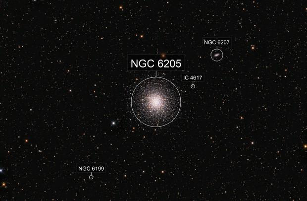 M13 The Great Hercules Cluster; Hercules