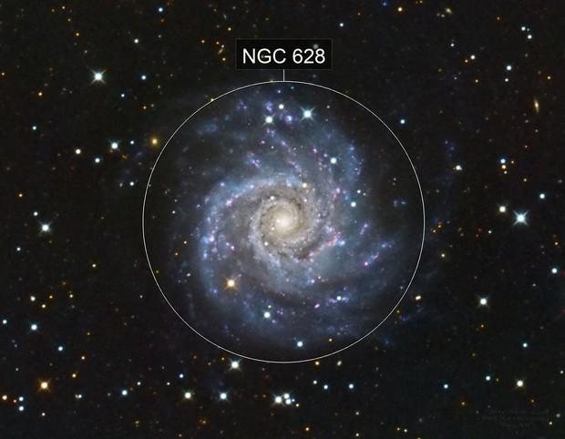 M74 Phantom Galaxy
