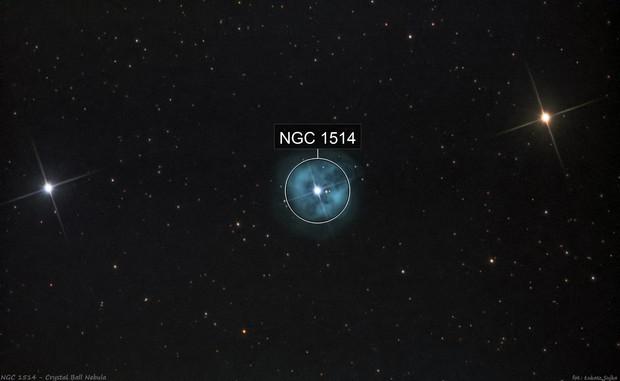 NGC 1514 - Crystal Ball Nebula