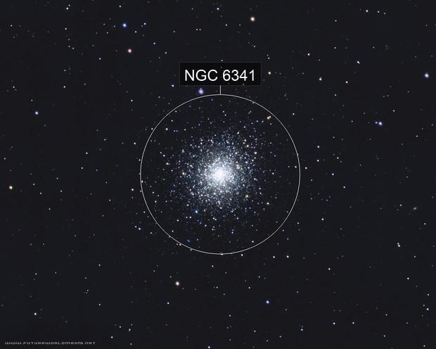 M92 Globular Cluster (NGC 6341)