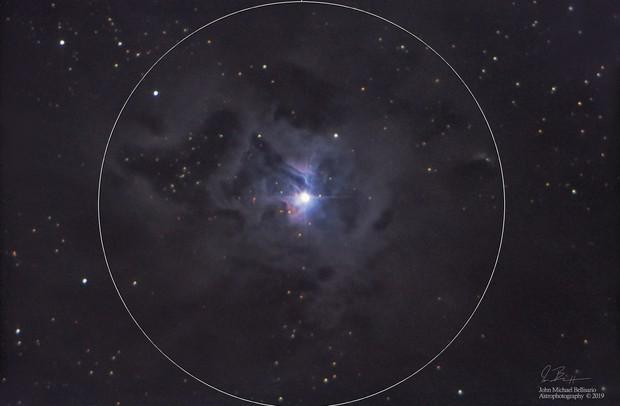 Iris Nebula Core