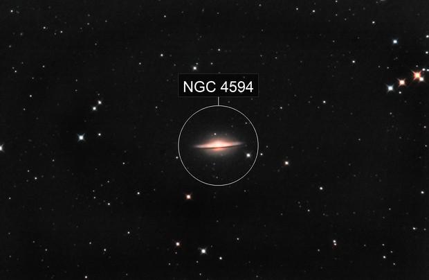 M 104 - NGC 4594
