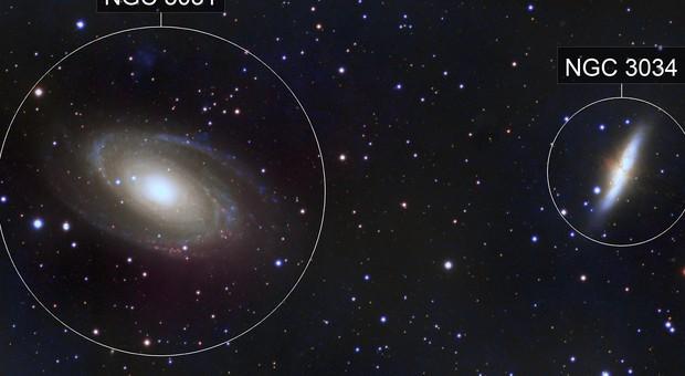 Bode's / Cigar Galaxies - M81, M82 (LRGB)
