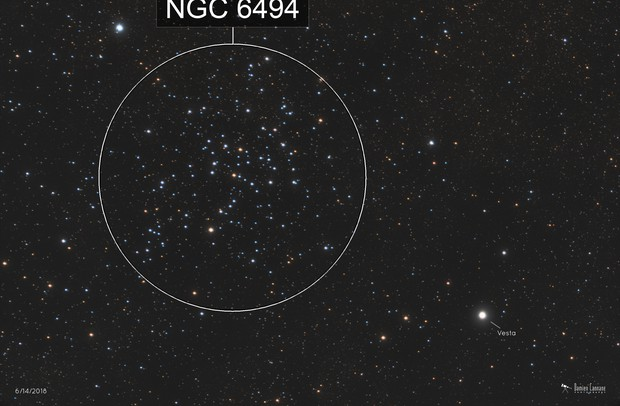The Asteroid Vesta and M23