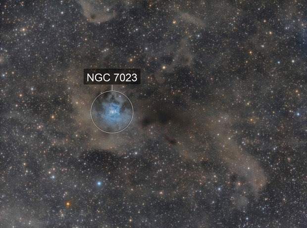 The Irisnebula - NGC7023