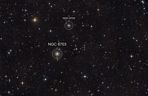 NGC 6703 et al.