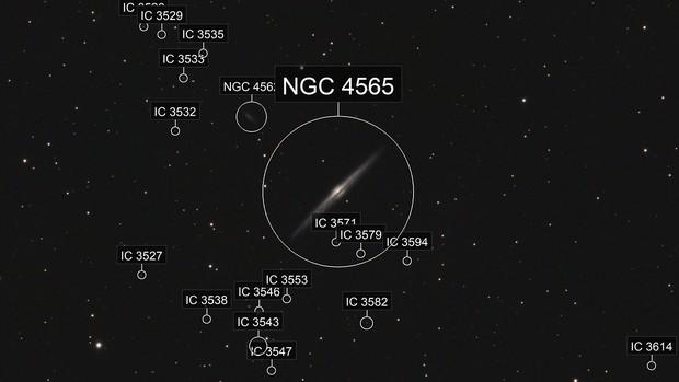 NGC 4565 - Needle Galaxy