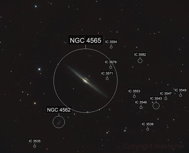 Nadelgalaxie
