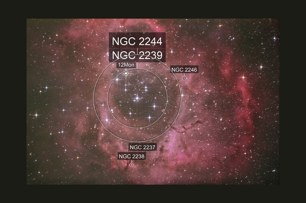 NGC2244 first trial