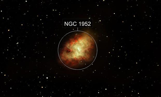 M 1 Crab Nebula
