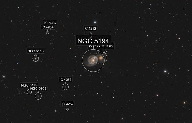 M 51 Galassia Vortice