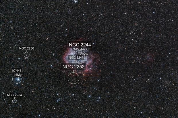Rosette nebula unmodified