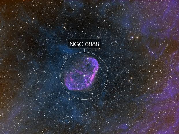 ngc6888 tangled