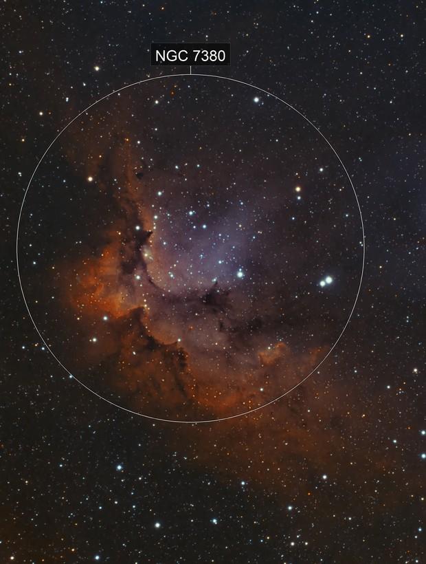 NGC7380 Wizard Nebula