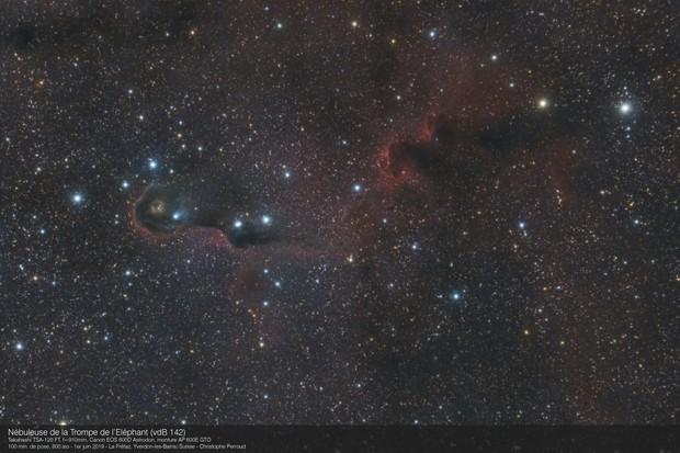 Elephant Trunk Nebula - Testing a new setup