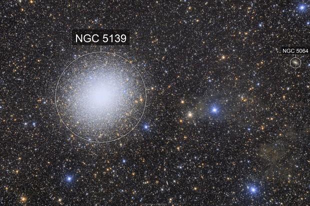 NGC 5139 - The Omega Centauri globular cluster