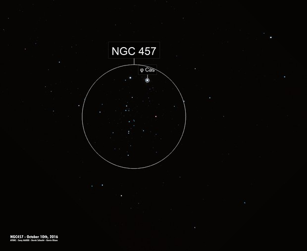 Cluster NGC457