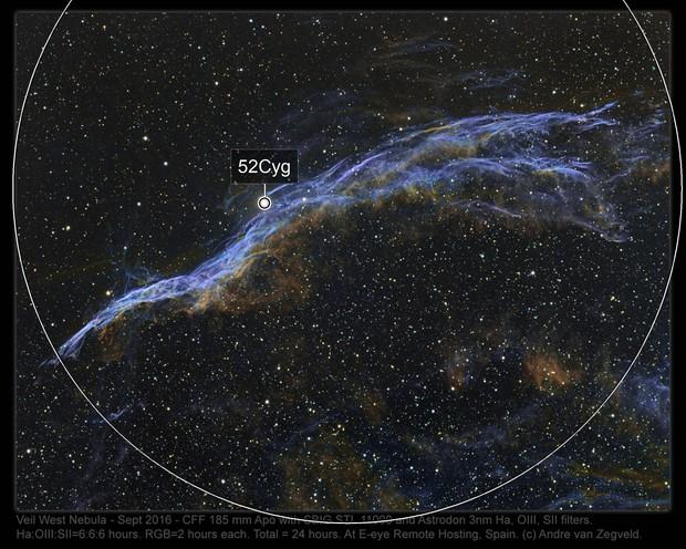 Veil Nebula West