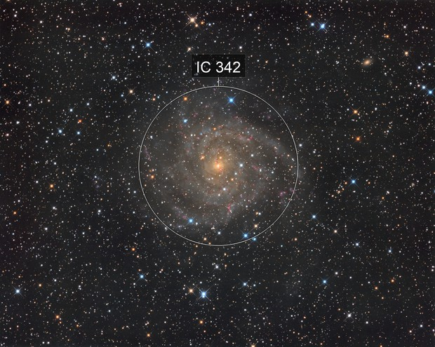IC342 The hidden Galaxy
