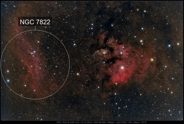 CED 214 & NGC 7822