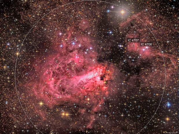 """nebulosa M17 """"omega"""""""