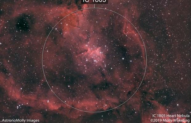 IC 1805 Heart Nebula #2 HaRGB