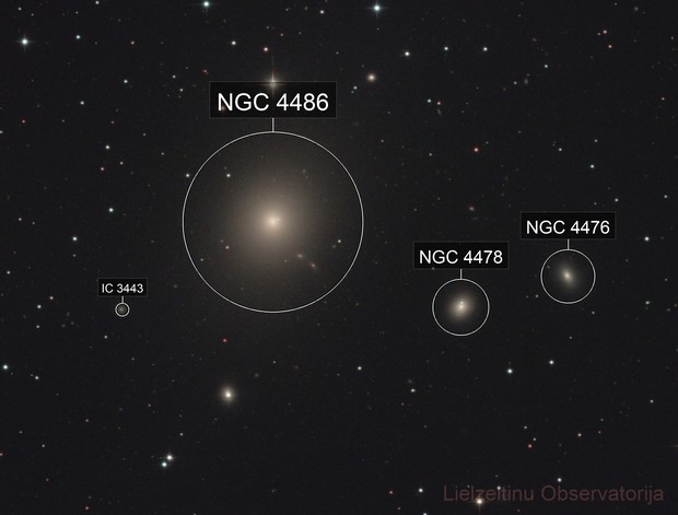 M87 Virgo-A Galaxy and Jet