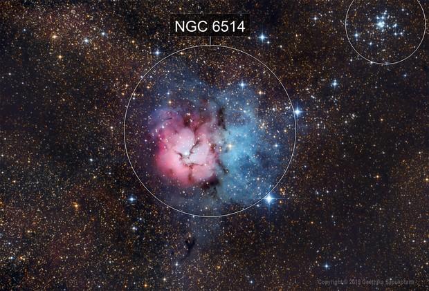 M20 Trifid Nebula