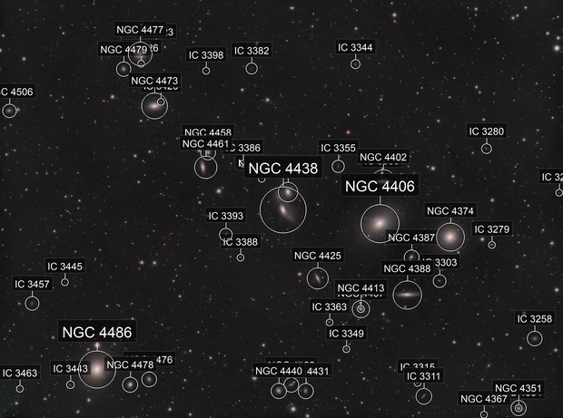 Markarian's Chain and M87