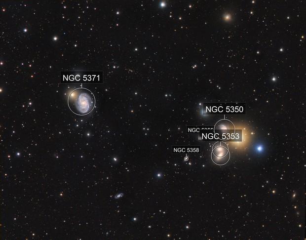 NGC 5371 vs Hickson 68