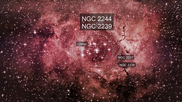 NGC 2238 Rosetta Nebula